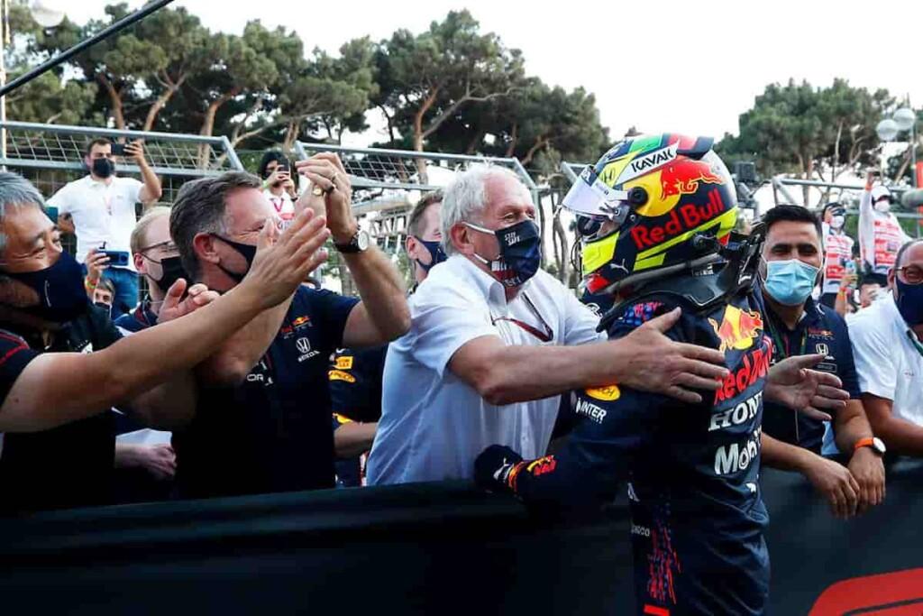 Helmut Marko and Sergio Perez 1 - FirstSportz