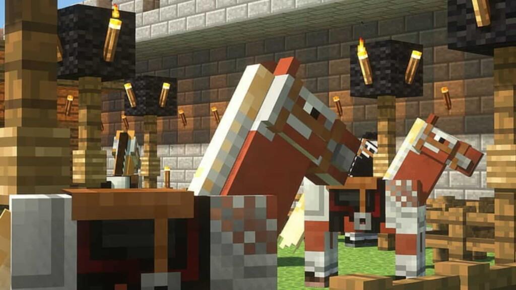 Horse in Minecraft