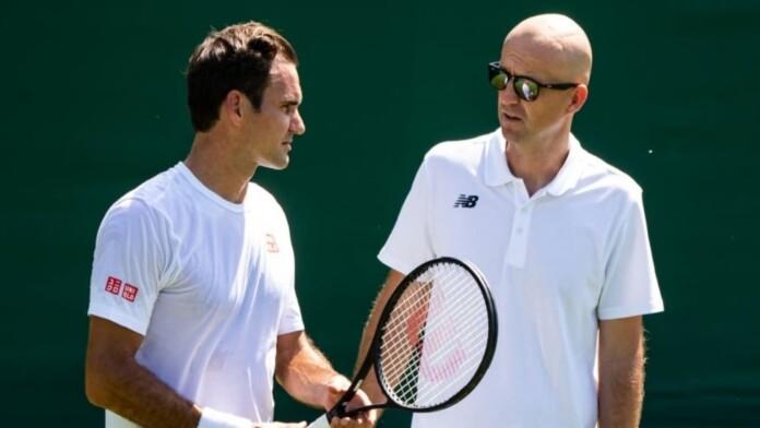 Roger Federer and Ivan Ljubicic