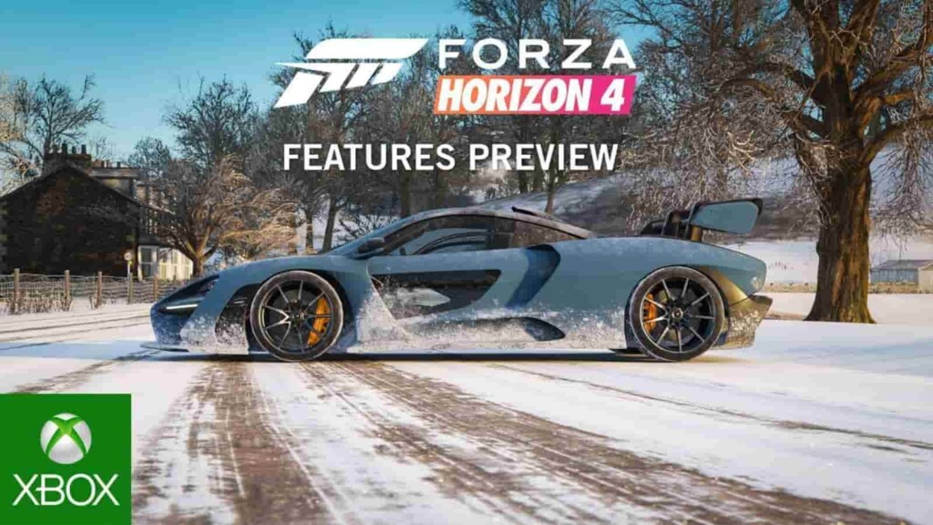 Forza Horizon 4 - Best Games for Xbox Gamers