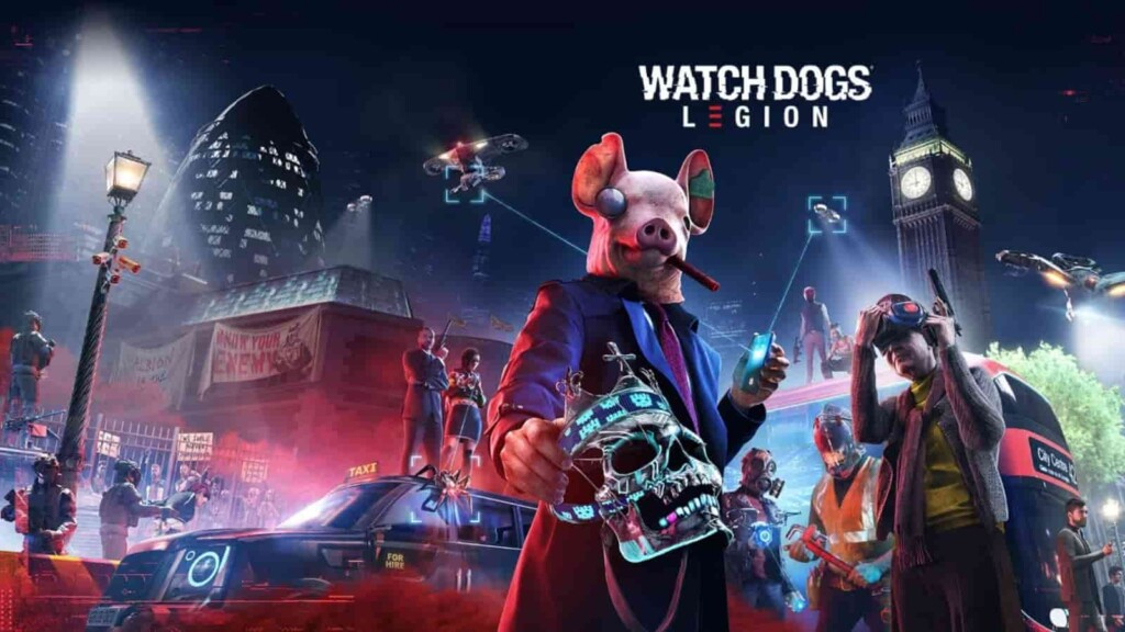 Watch Dogs Legion - Best Games for PS5 Gamers