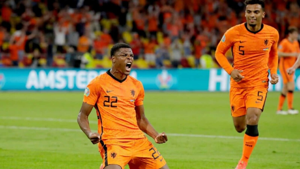 The Netherlands vs Ukraine Player Ratings as after the Dutch edge past Andriy Shevchenko's men in the five-goal thriller