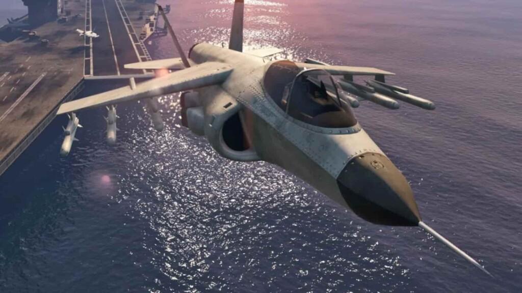 Hydra vs Lazer Jets in GTA Online