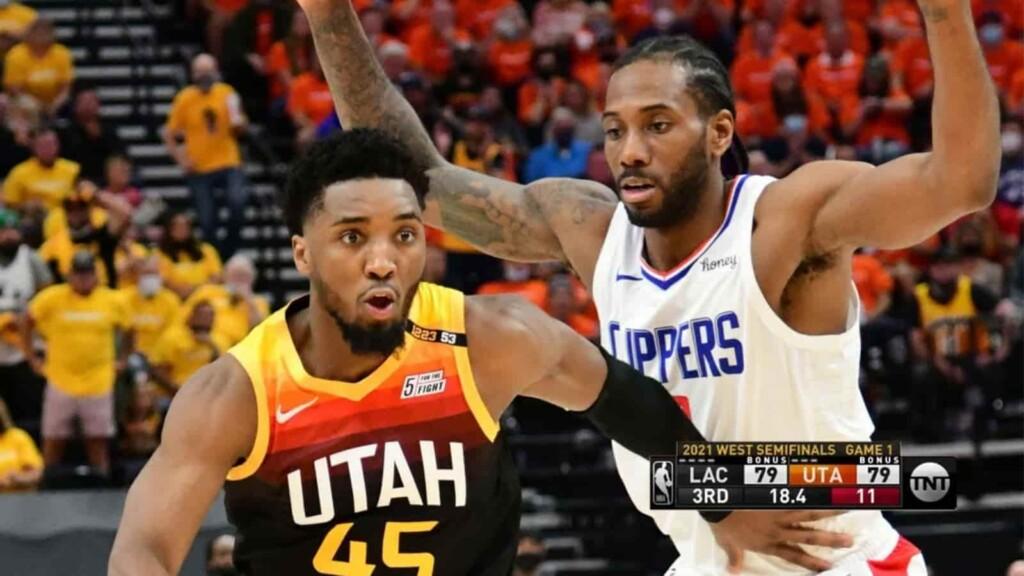 Utah Jazz vs LA Clippers live stream
