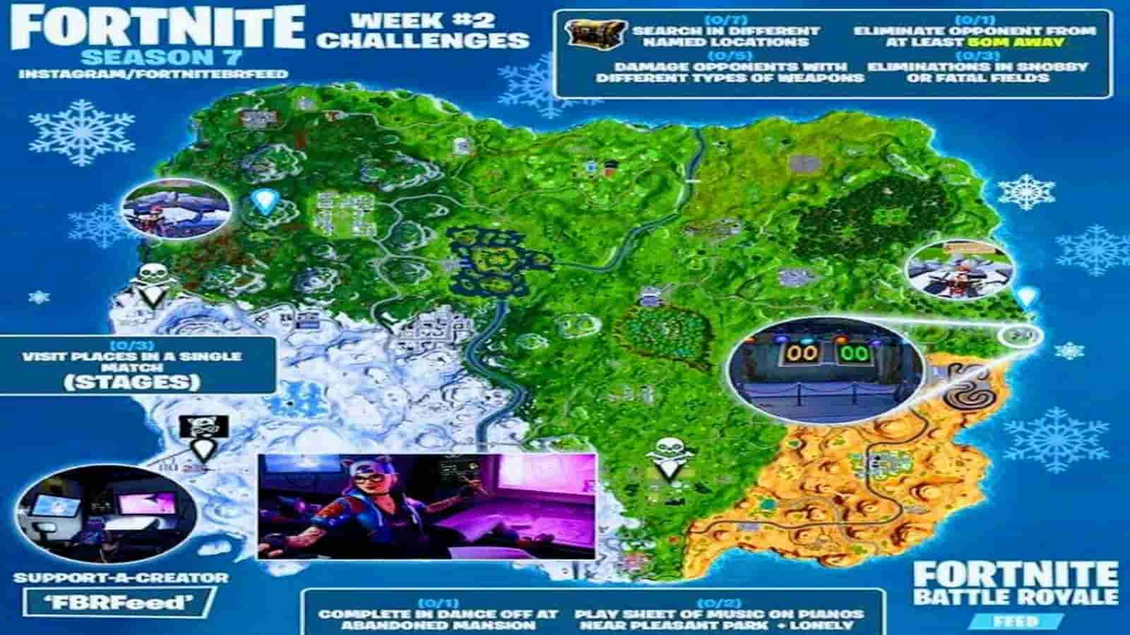 Fortnite Season 7 Week 2 Challenges: Launch Date and Details