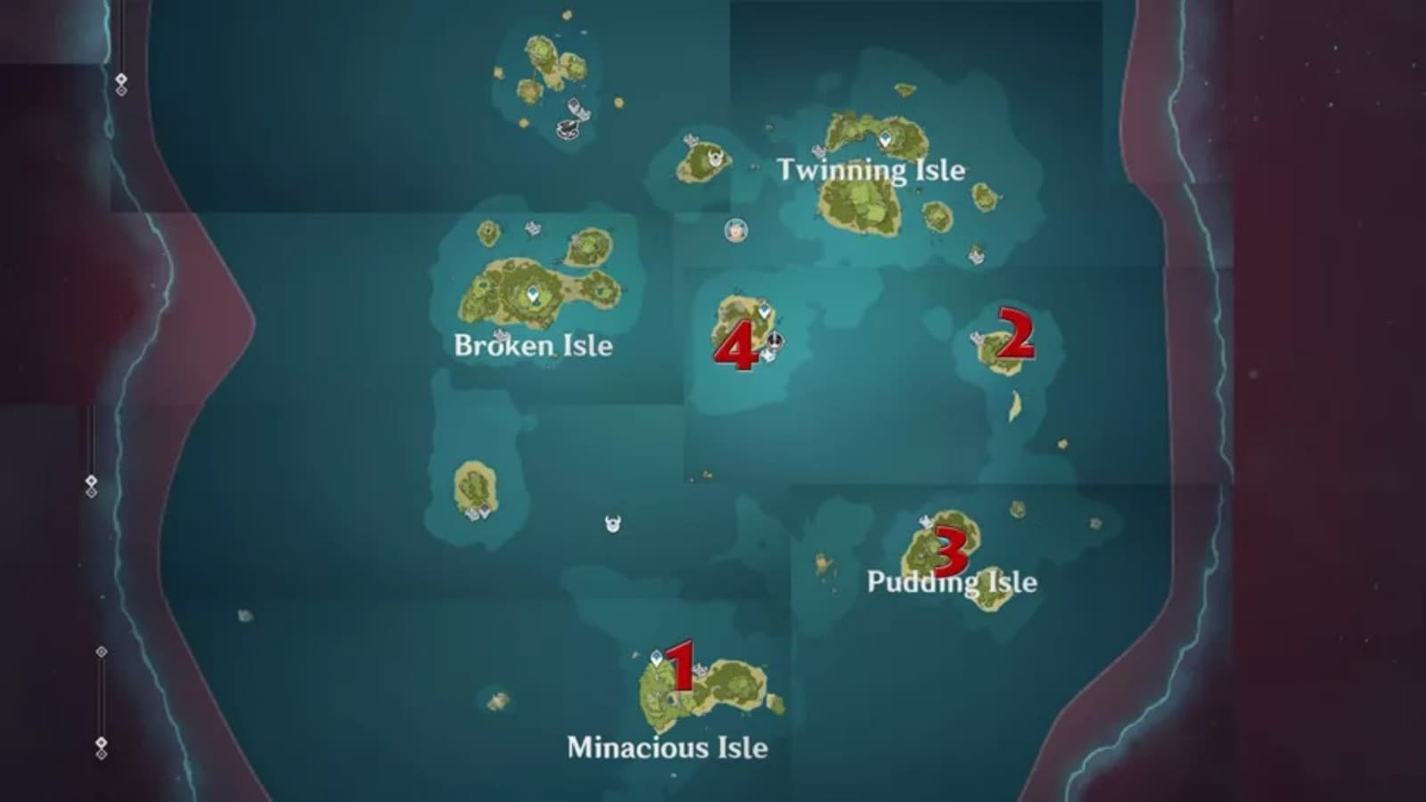 Genshin Impact Familiar Voices Conch Locations