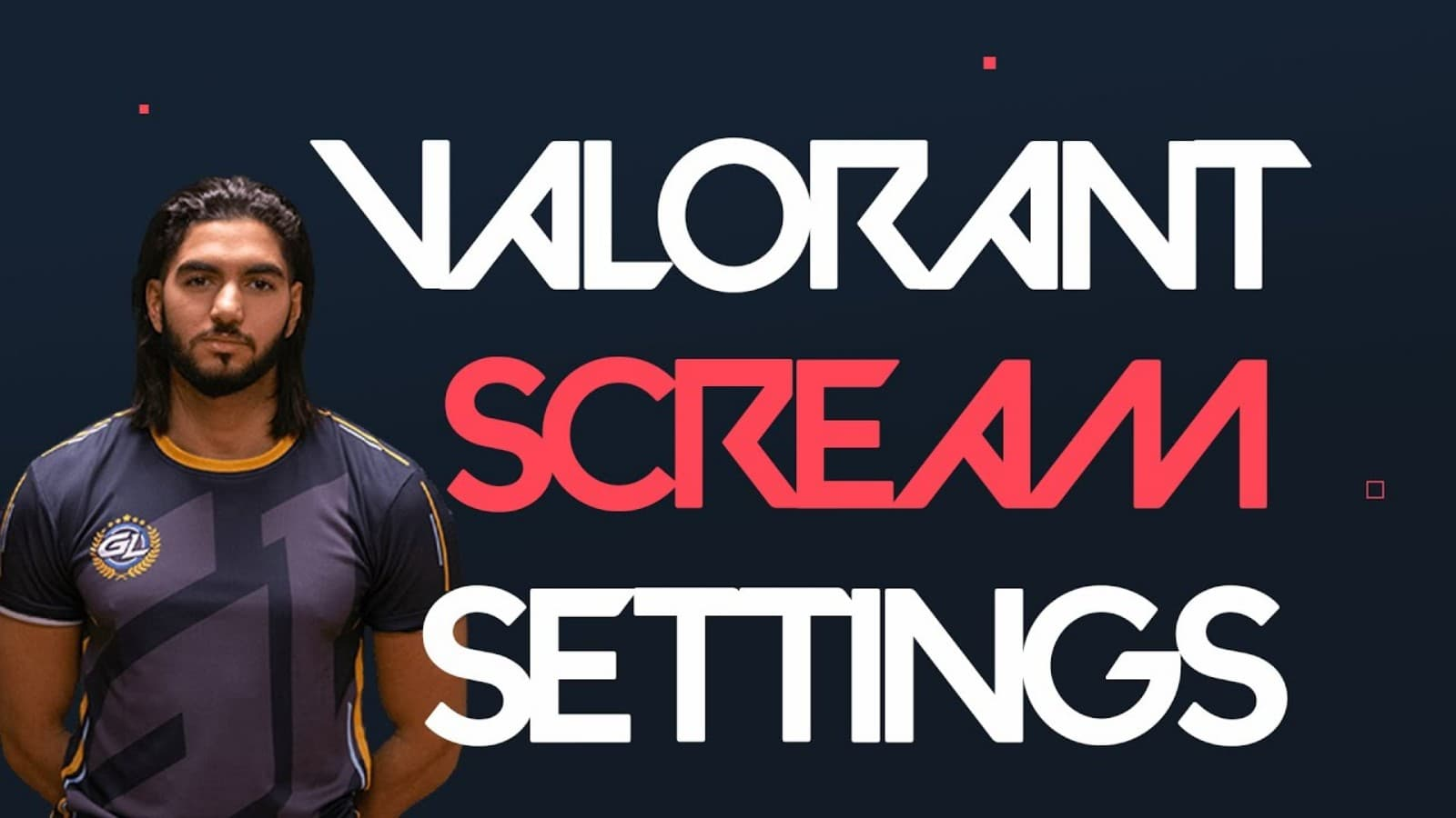 ScreaM Valorant Settings, Crosshair, Key bindings, and PC Specs