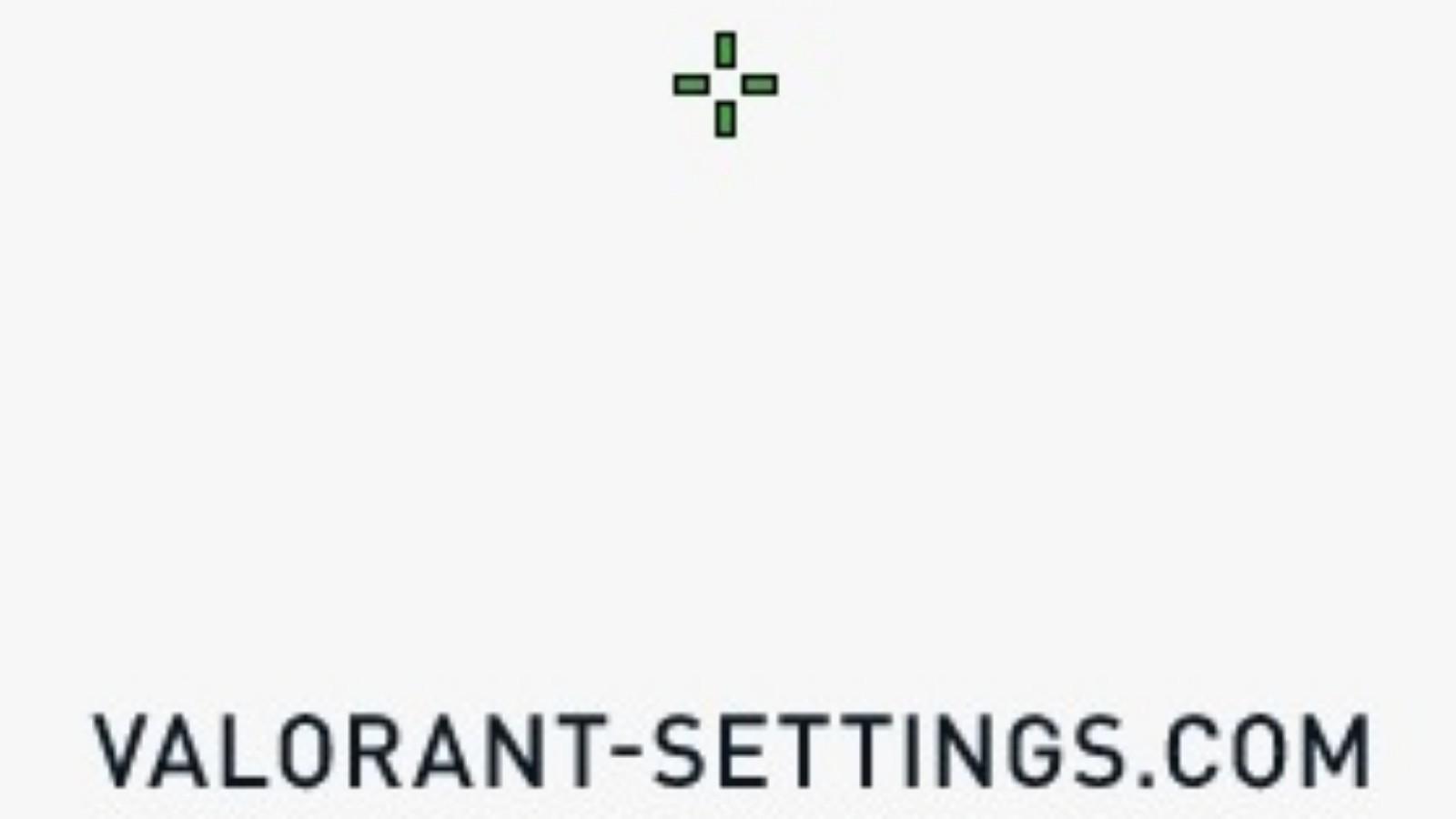 Valorant Pro Crosshairs Settings