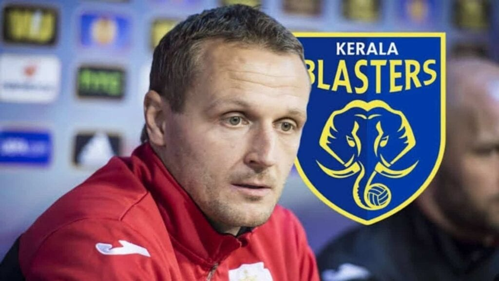 Kerala Blasters head coach Ivan Vukomanovic