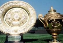 Wimbledon trophies