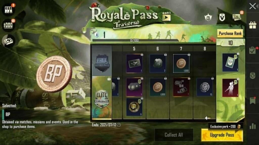 Battleground Mobile India Season 19 Royal Pass Free Rewards