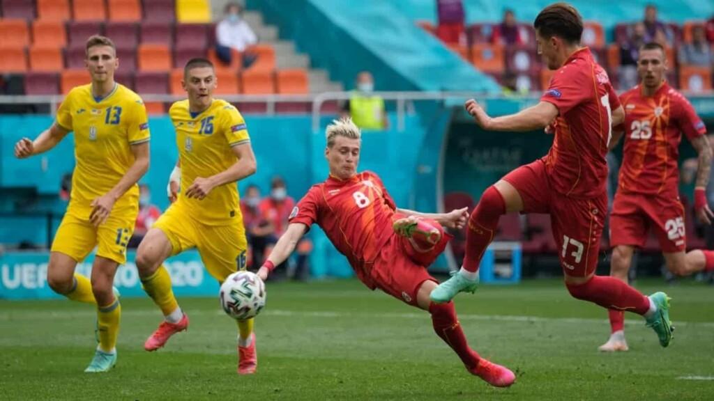 Ukraine Vs North Macedonia player Ratings