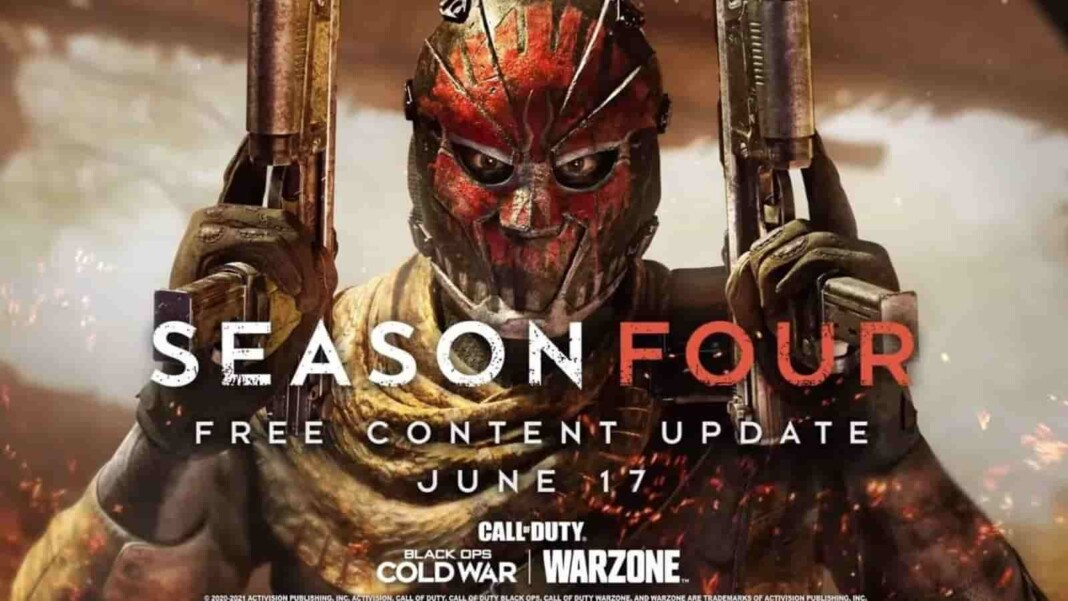 Call of Duty Warzone Season 4 Release
