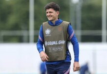 Harry Maguire set to feature in England's group stage tie against Scotland