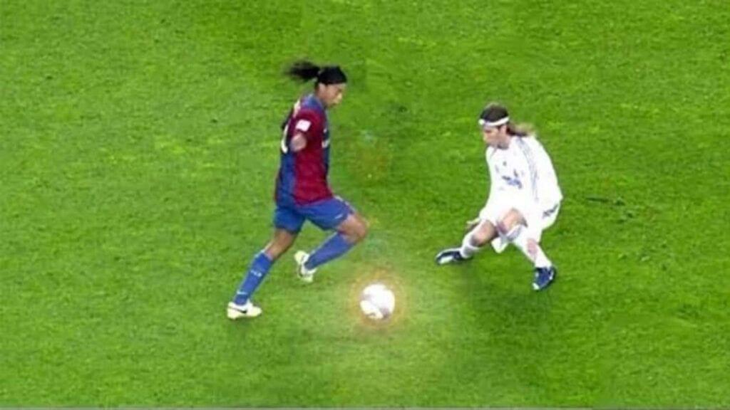 Ronaldinho v Ramos