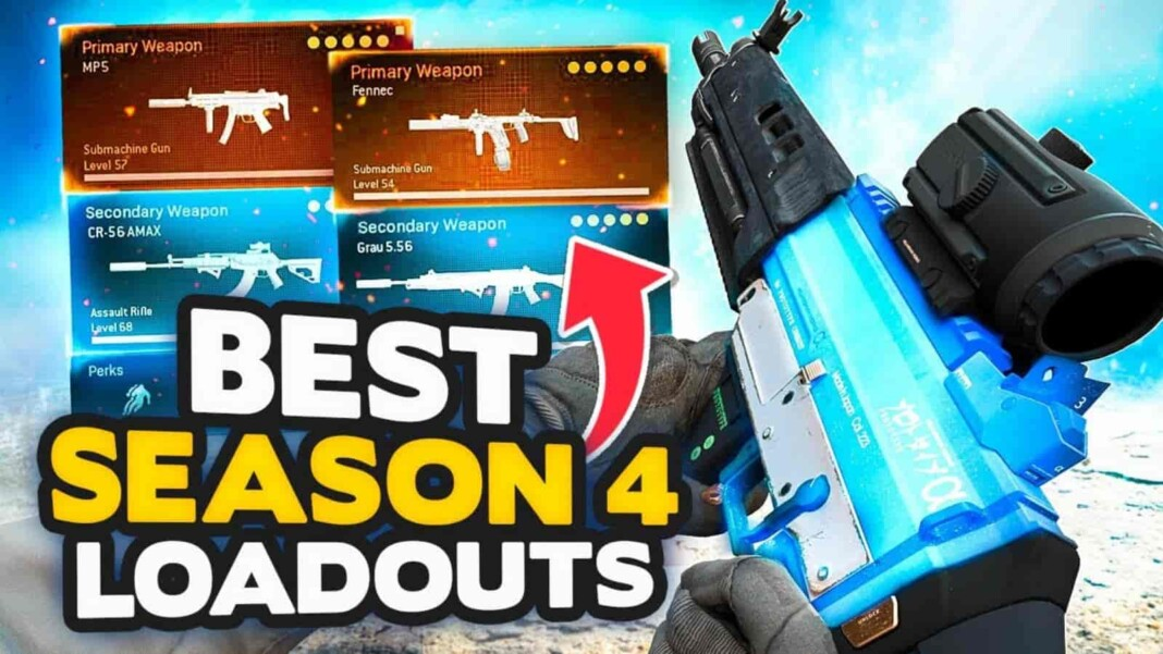Top 5 Best Loadouts for Call of Duty Warzone Season 4