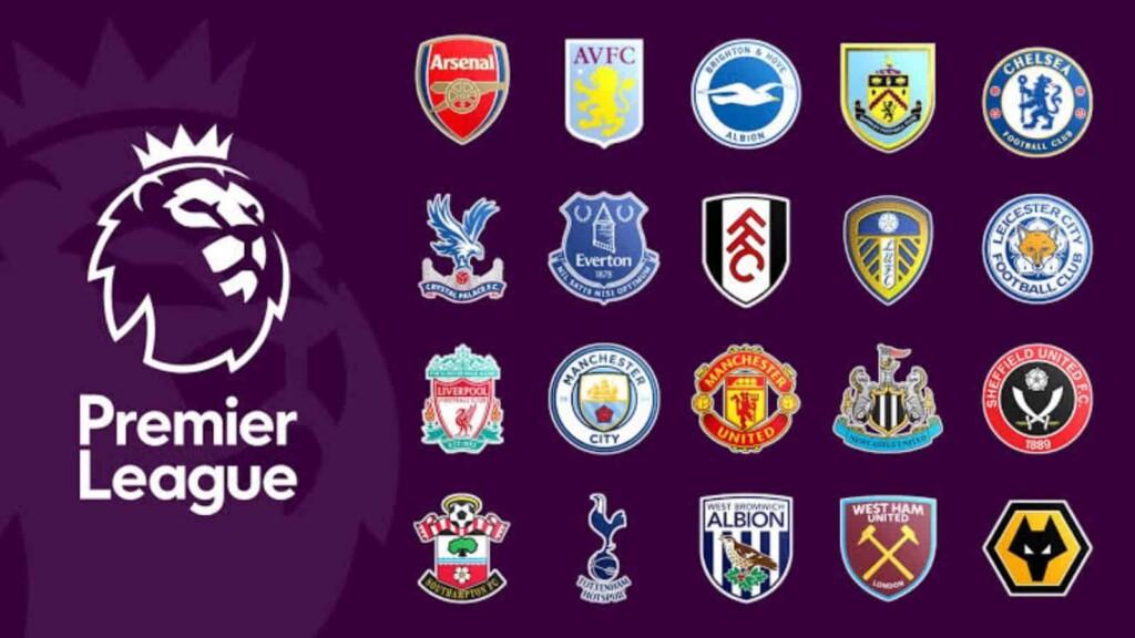 Current Premier League clubs