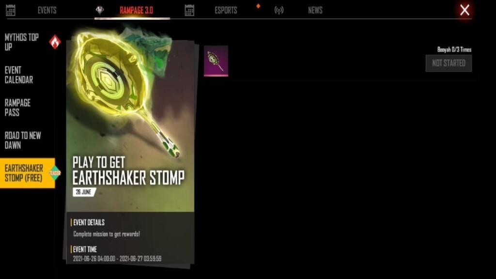Earthshaker stomp pan skin