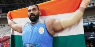 Tejinder Pal Singh Toor qualified for the Tokyo Olympics