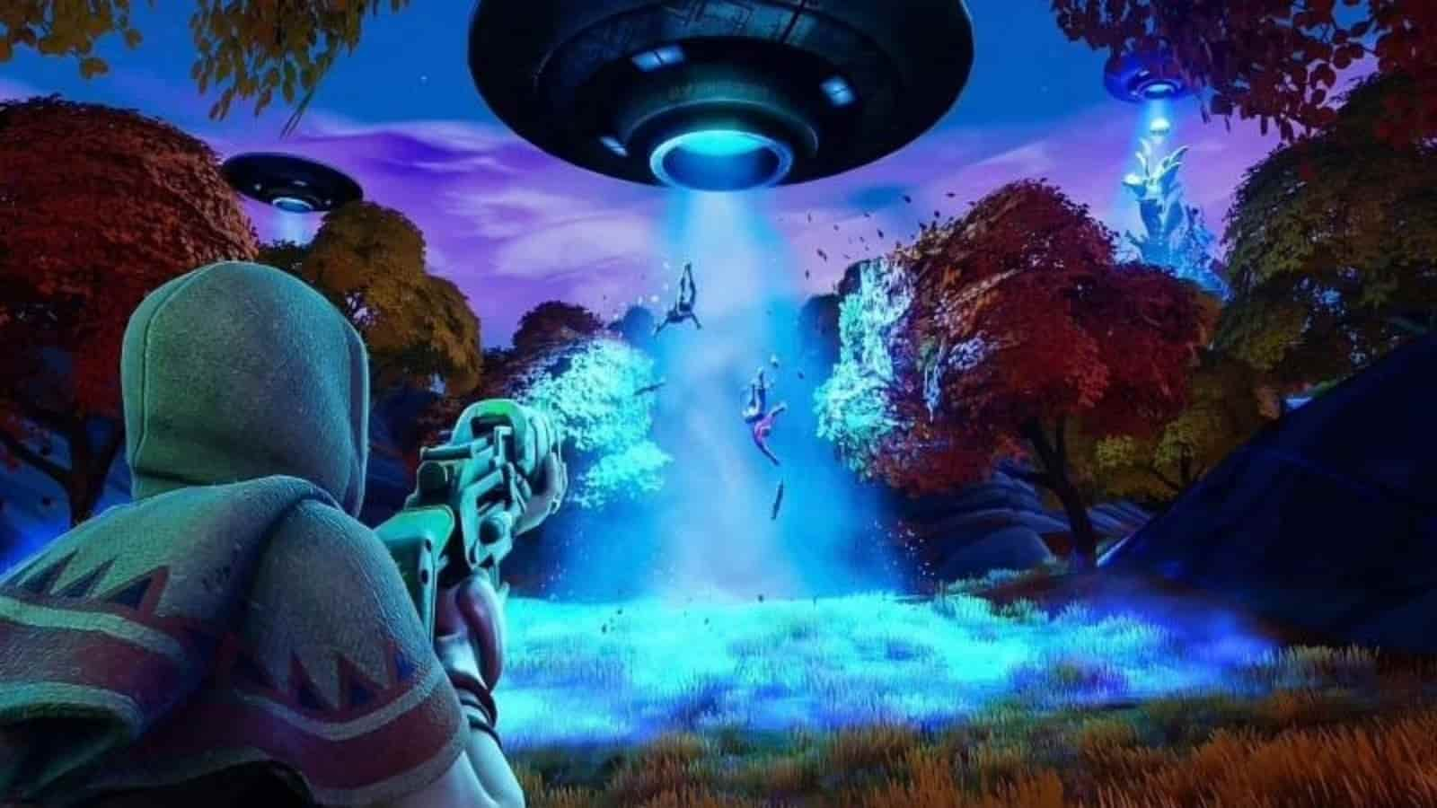 Fortnite Abductors Inbound in Season 7