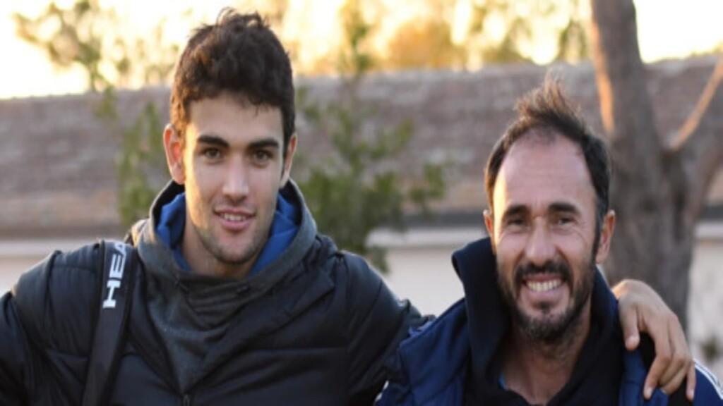 Berrettini and his coach