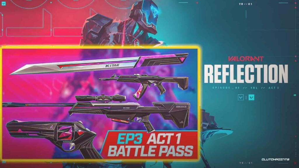 Valorant Episode 3 Act 1 Battle Pass