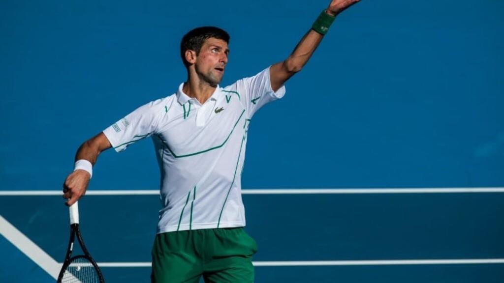 Novak Djokovic's serve