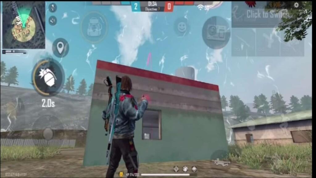 Free Fire grenade kill
