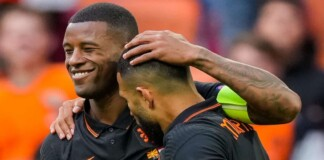 Euro 2020: Netherlands captain Georginio Wijnaldum is prepared to lead his players off the pitch if they're racially abused in Budapest