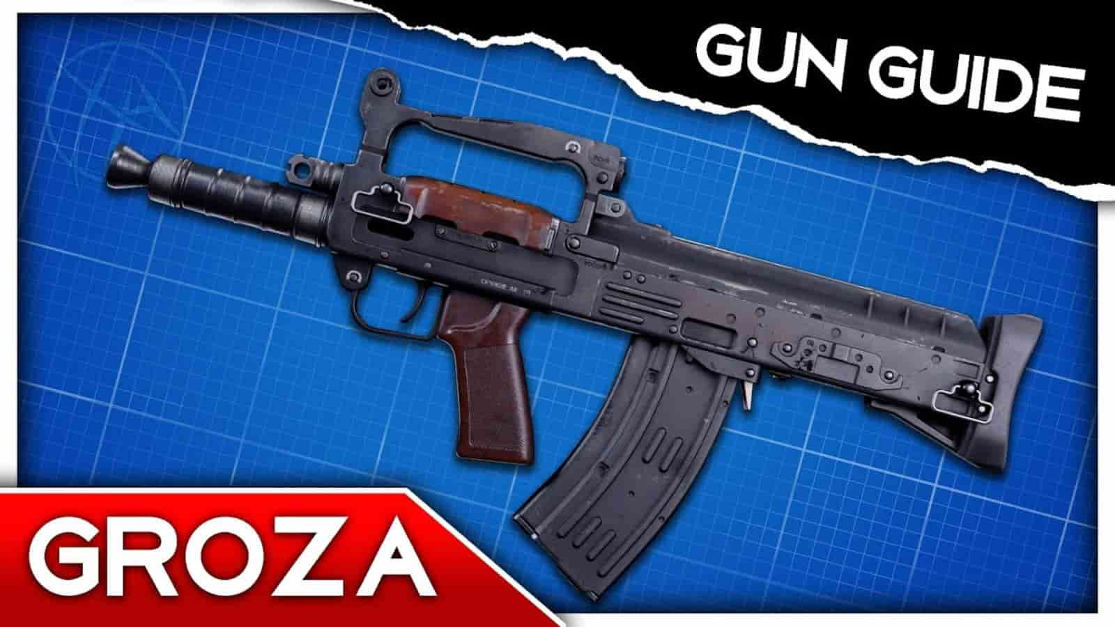The Best Groza Warzone Loadout with Details