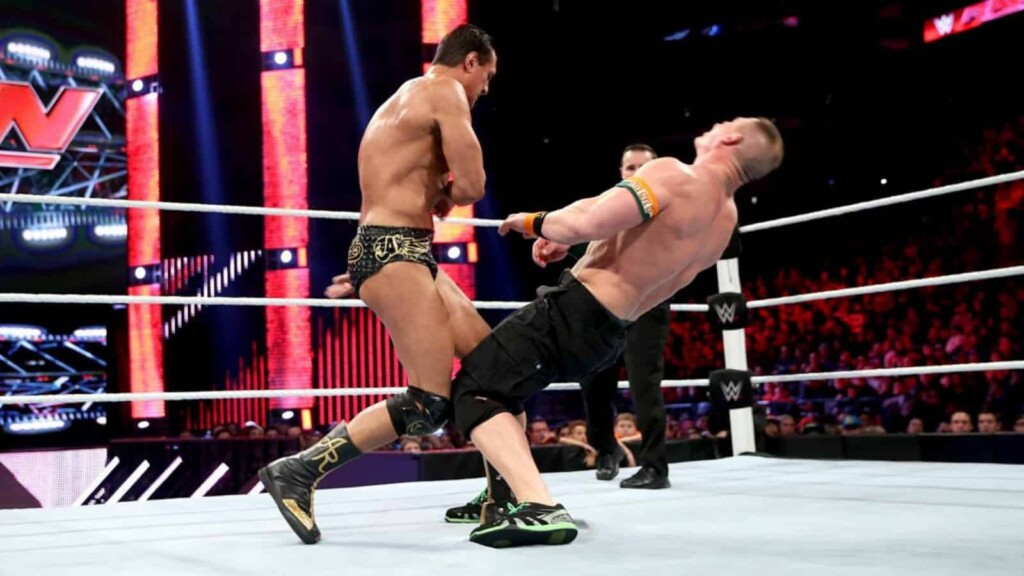 Alberto Del Rio against John Cena