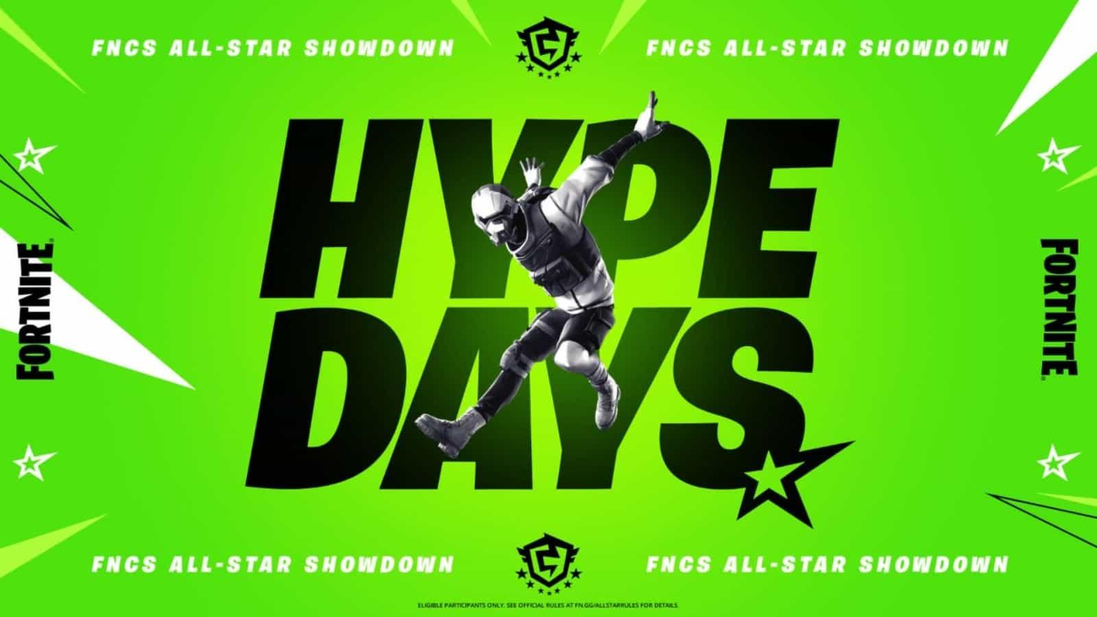 Fortnite FNCS Rewards: All-Star Showdown Details