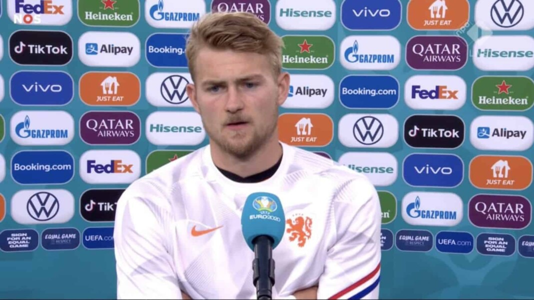 Euro 2020: Matthijs De Ligt takes blame for Netherlands' defeat to Czech Republic in the last 16