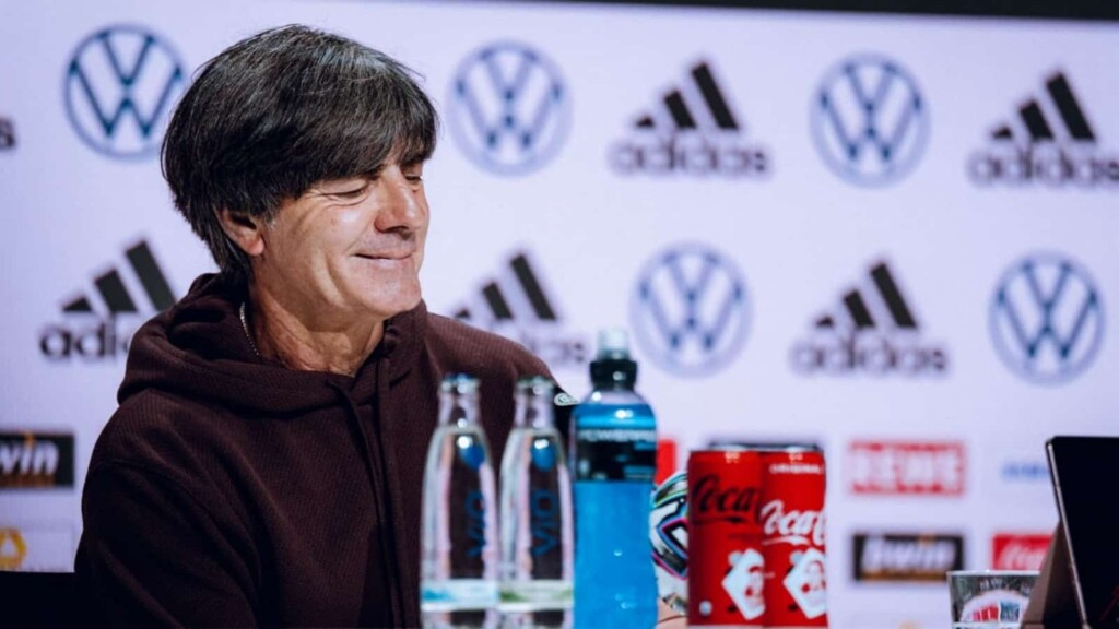 """""""My heart continues to beat black, red and gold."""" Joachim Low spoke out his heart in his departing speech"""