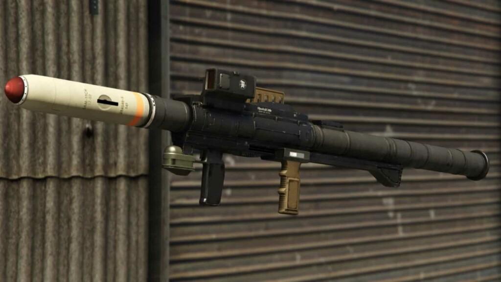 RPG vs Homing missile in GTA 5