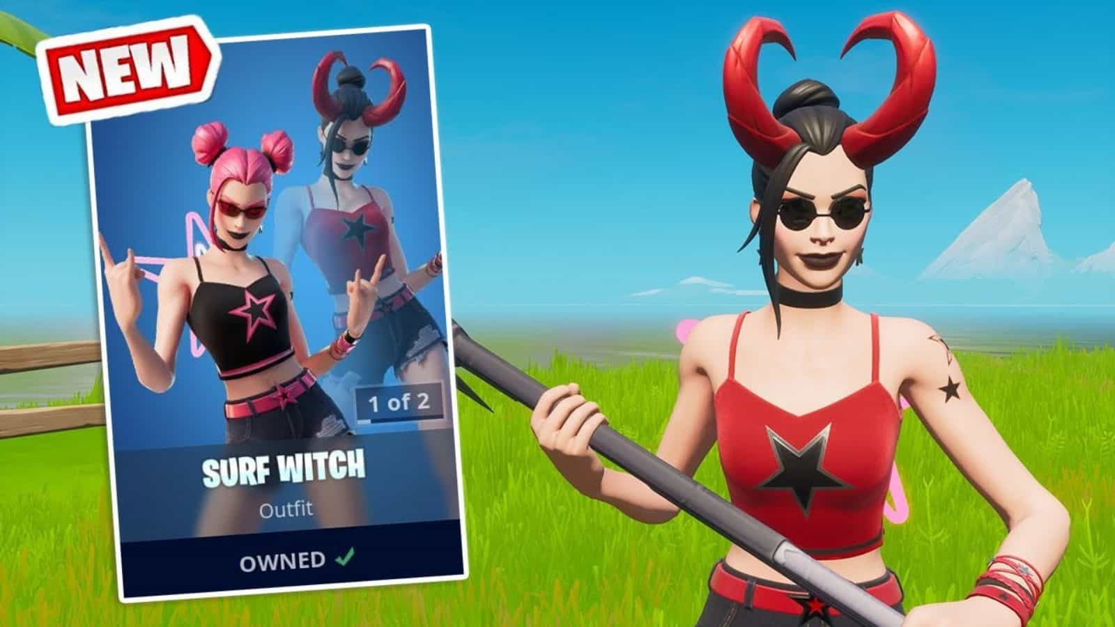 How to Get New Fortnite Surf Witch Skin in Fortnite Season 7