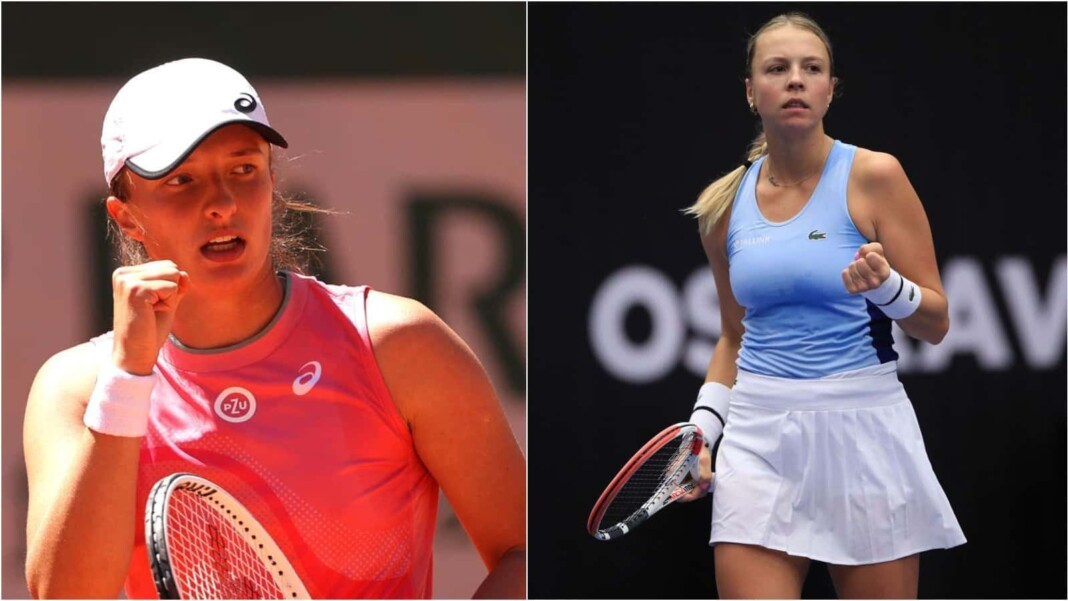 Iga Swiatek vs Anett Kontaveit will meet in the 3rd round of the French Open 2021