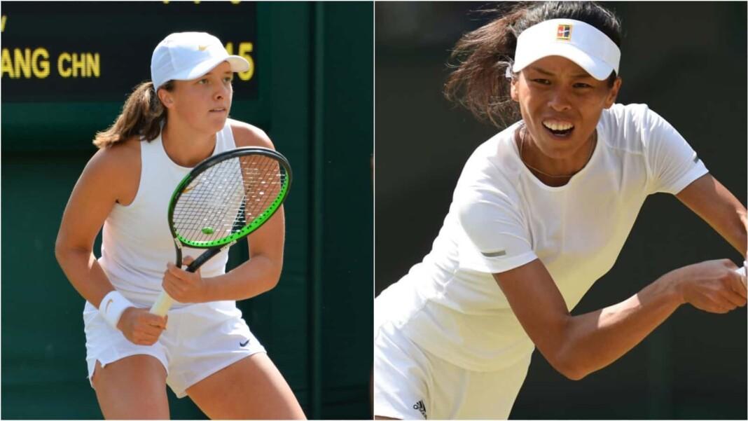 Iga Swiatek vs Su-Wei Hsieh will clash in the opening round of the Wimbledon 2021