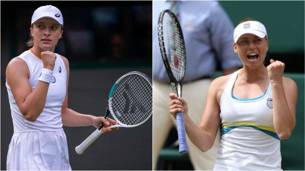 Iga Swiatek vs Vera Zvonareva will clash in the 2nd round of the Wimbledon 2021