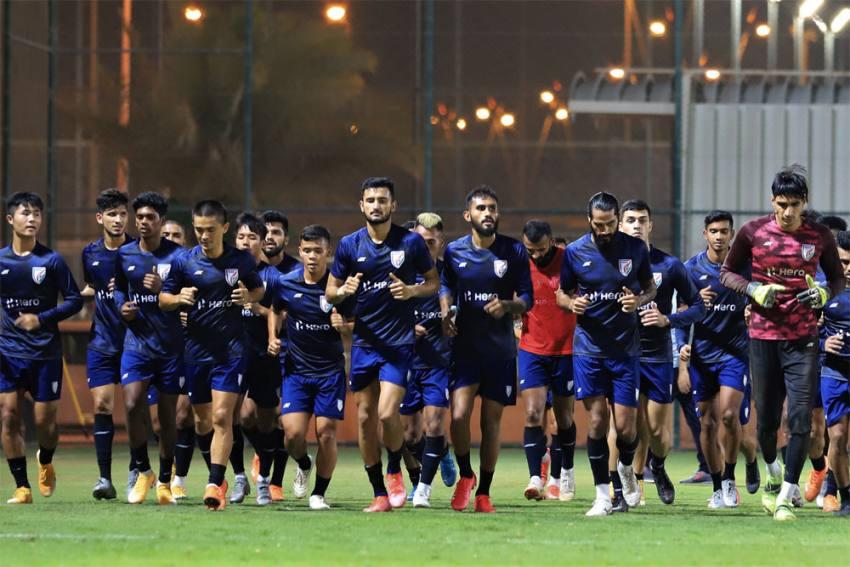Indian Football Team, India vs Afghanistan