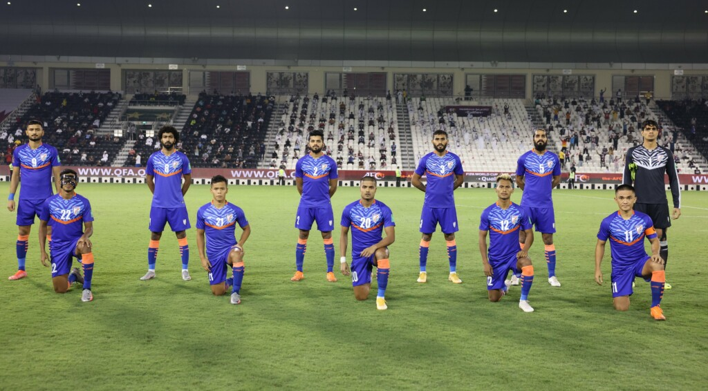 India fell to a 1-0 defeat against Qatar