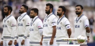 Indian team wearing black armbands in the WTC final, Simon Doull