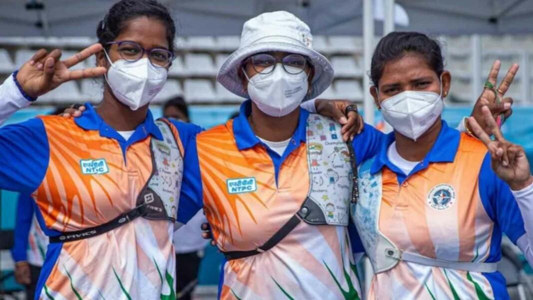 Indian women's recurve team