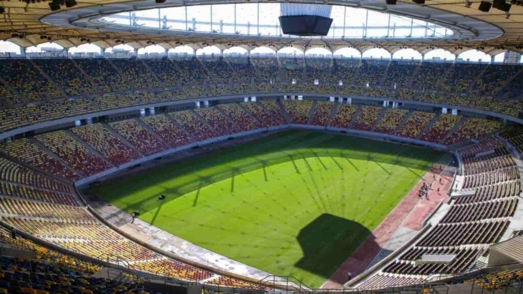 Internal view of Bucharest