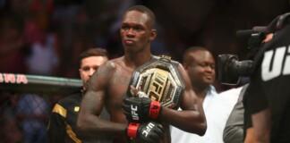 Israel Adesanya UFC 263