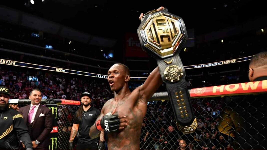 Israel Adesanya at UFC 263