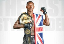 Israel Adesanya wins at UFC 263