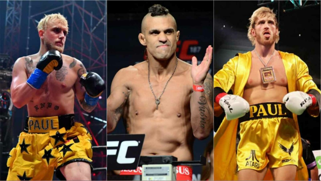 Jake Paul, Vitor Belfort and Logan Paul