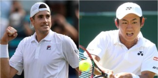John Isner vs Yoshihito Nishioka will clash in the 1st round of the Wimbledon 2021