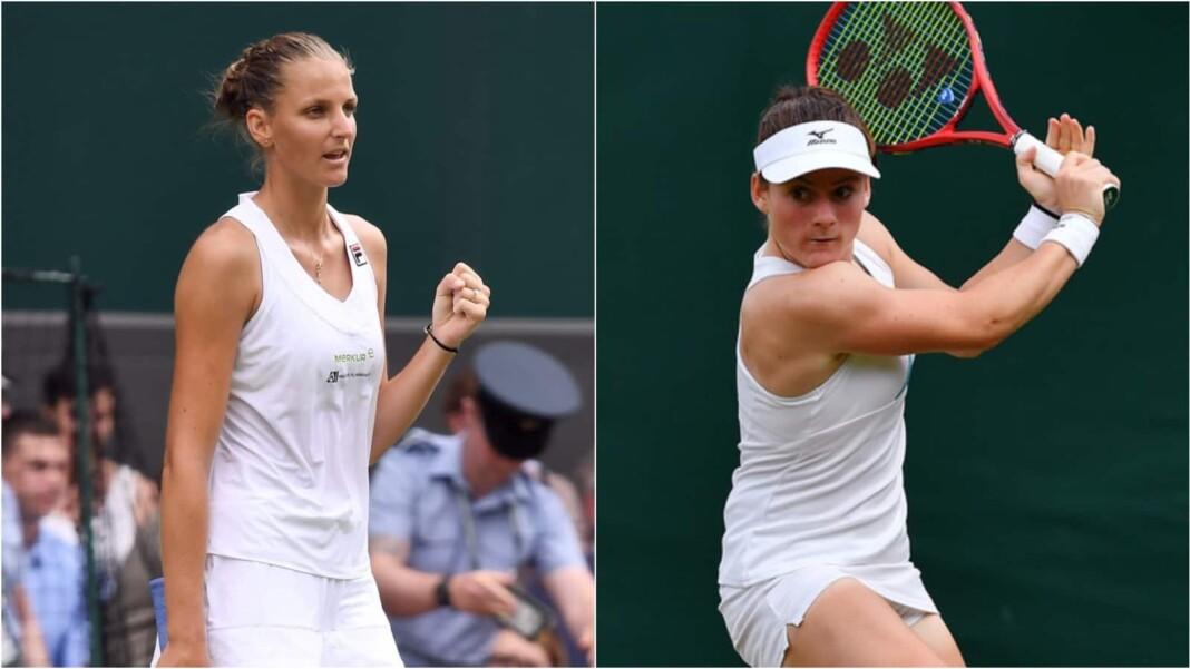 Karolina Pliskova vs Tamara Zidansek will play in the 1st round of the Wimbledon 2021